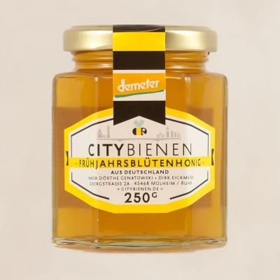 250g CityBienen.de Demeter Frühjahrsblüten-Honig